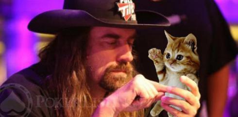 Фергюсон с котом